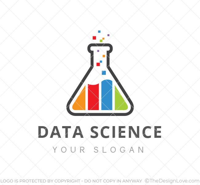 data science lab logo business card template the design love