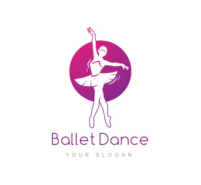Ballet Dance Logo & Business Card Template - The Design Love