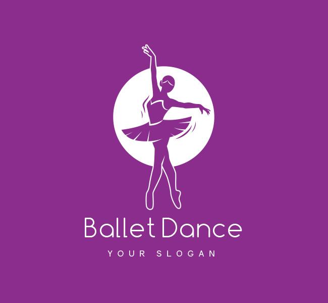 Ballet-Dance-Pre-Designed-Logo