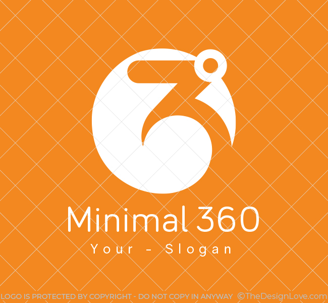 Minimal-360-Pre-Designed-Logo