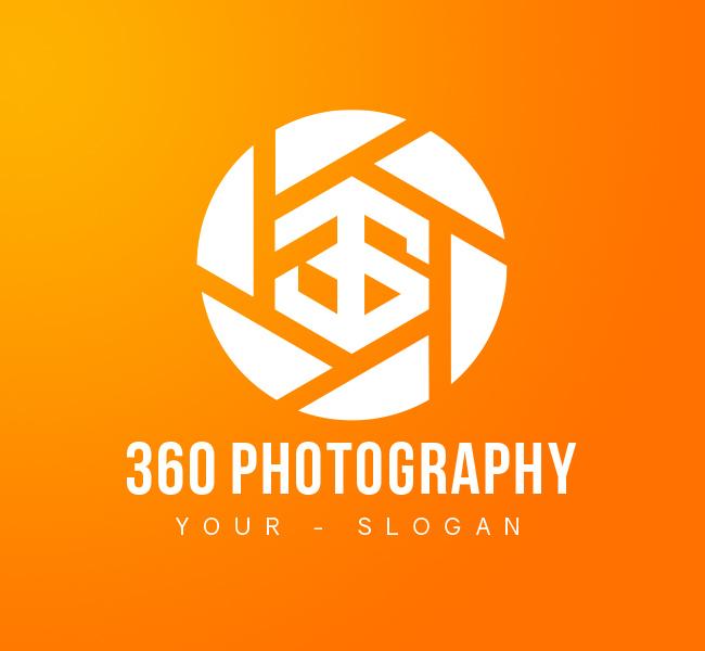 360-Photography-Pre-Designed-Logo