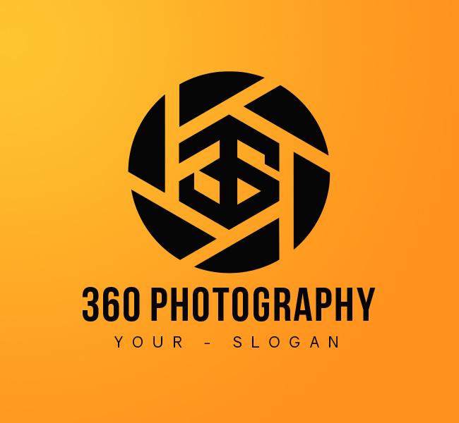 360-Photography-Stock-Logo