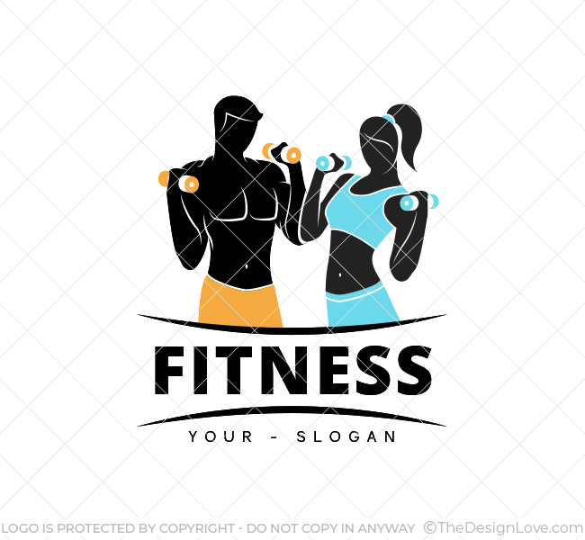 Gym Logo Design Template