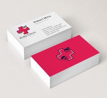 Kids-Clinic-Business-Card-Mockup