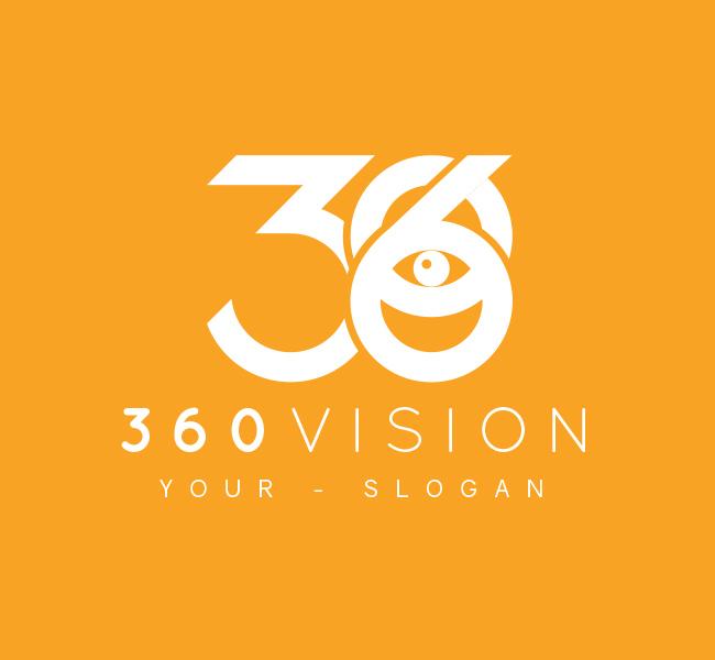 360-Vision-Lab-Pre-Designed-Logo