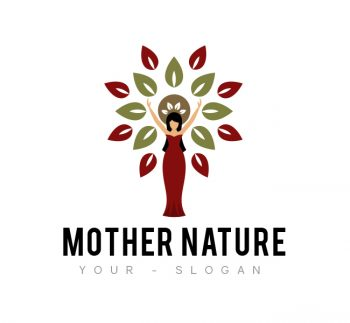 Mother Nature Logo & Business Card Template