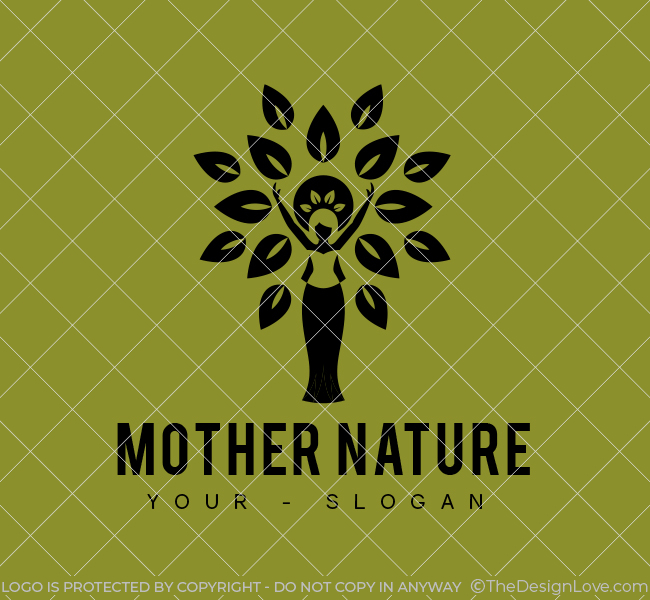 Mother-Nature-Stock-Logo