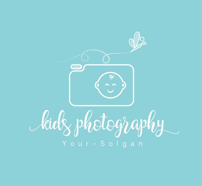 Kids-Photography-Pre-Designed-Logo