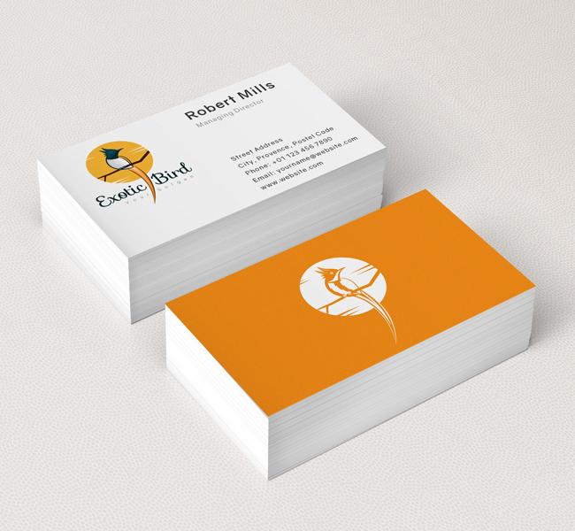 Exotic-Bird-Business-Card-Mockup