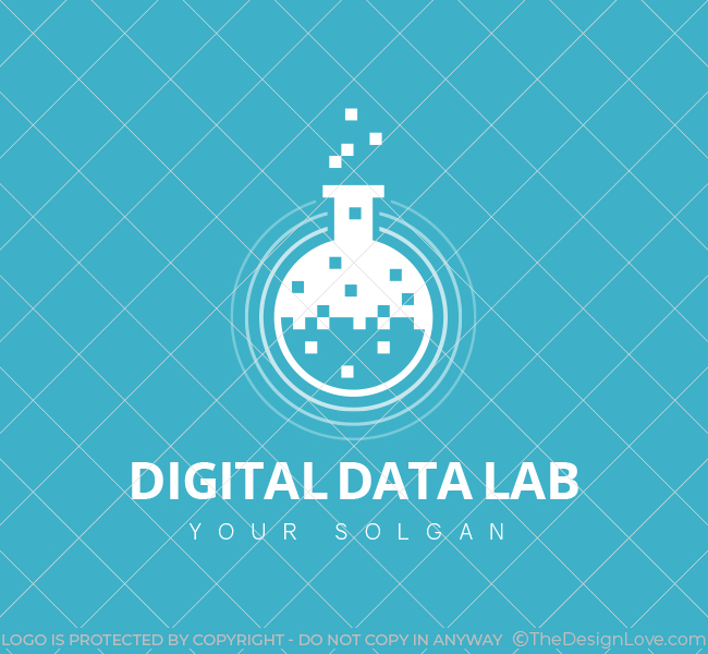 Digital-Lab-Pre-Designed-Logo