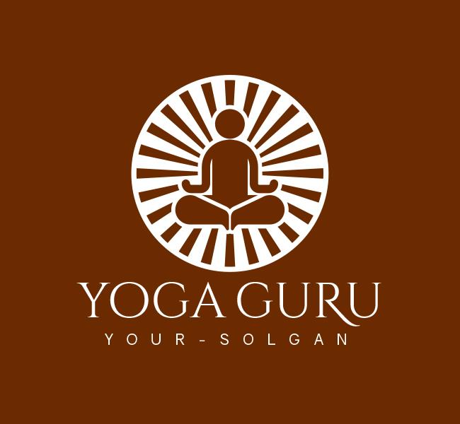 Yoga-Trainer-Pre-Designed-Logo