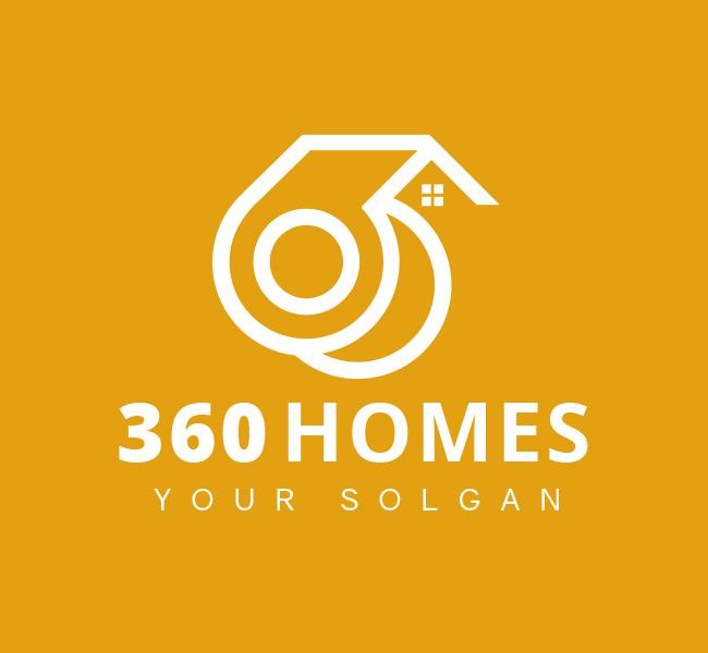 360-homes-Pre-Designed-Logo