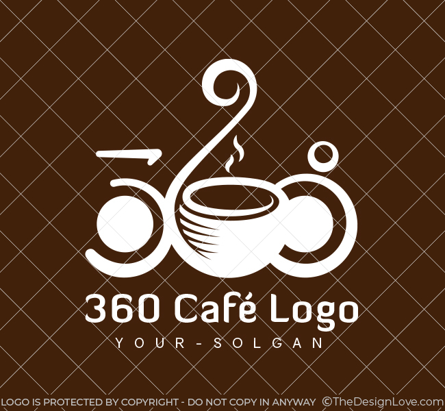 360-Cafe-Pre-Designed-Logo