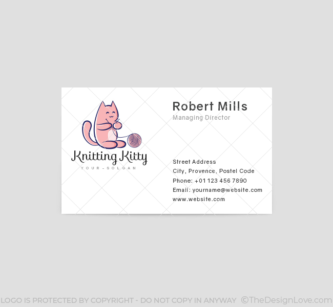 Kitty-Knitting-Business-Card-Template-Front