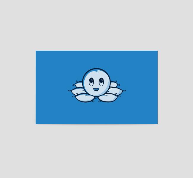 366-Octopus-Pillow-Business-Card-Template-Back