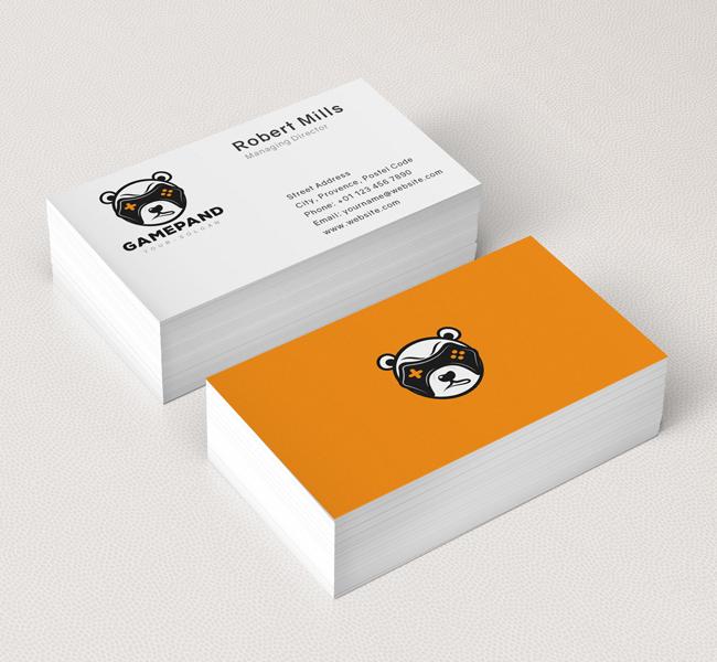 Game-Panda-Business-Card-Mockup