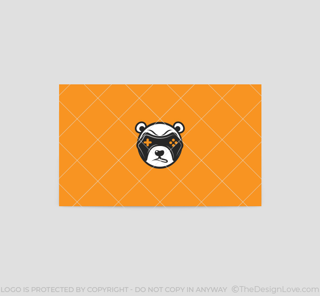 Game-Panda-Business-Card-Template-Back