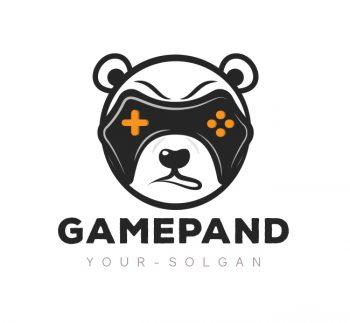 Game Panda Logo & Business Card Template