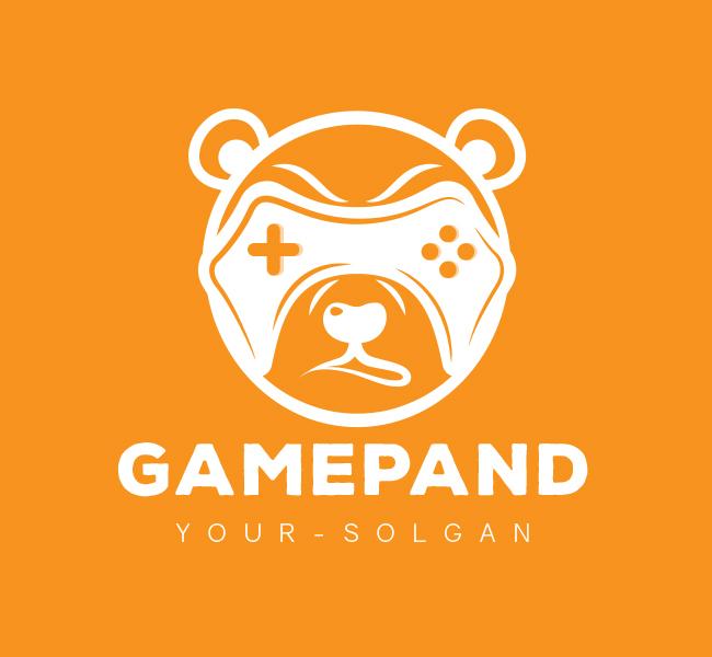 Game-Panda-Pre-Designed-Logo