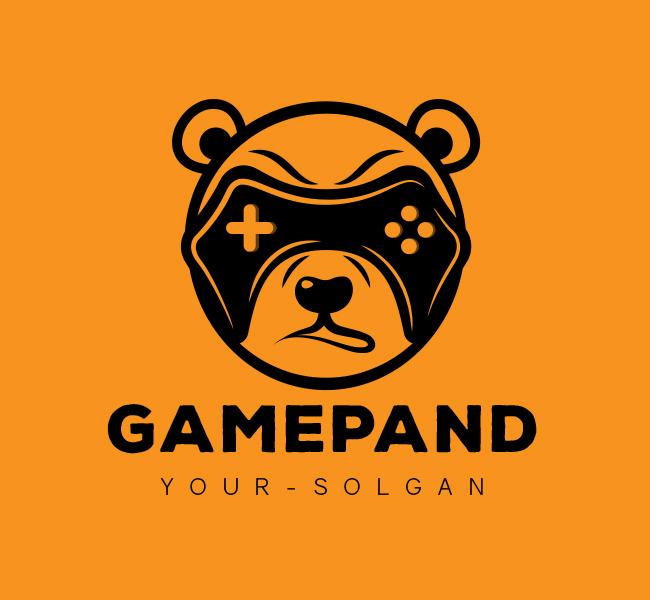 Game-Panda-Stock-Logo