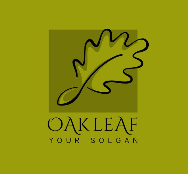 Oak-Leaf-Stock-Logo