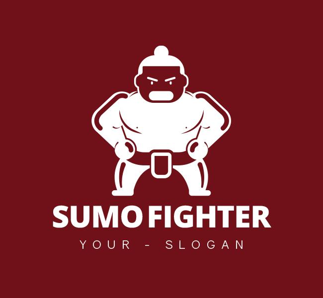 Sumo-Fighter-Pre-Designed-Logo