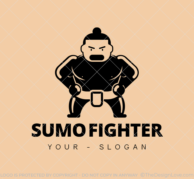 Sumo-Fighter-Stock-Logo