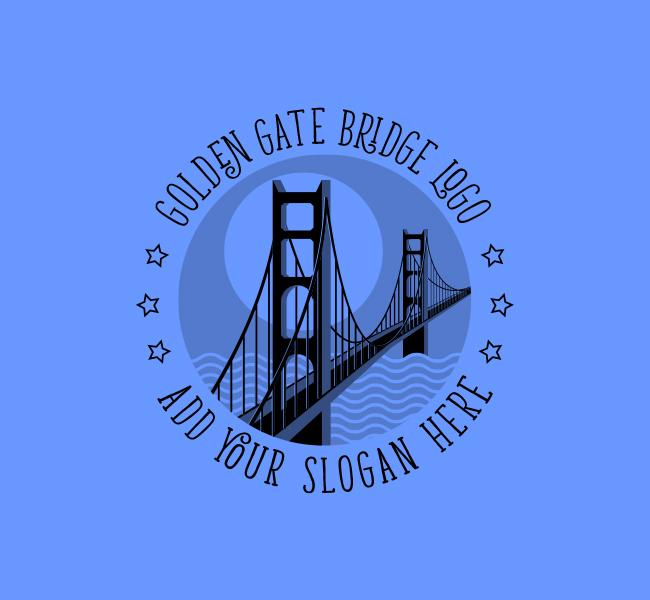 Golden-Gate-Bridge-Stock-Logo