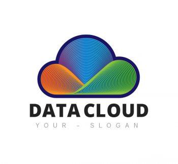 Data Cloud Logo & Business Card Template