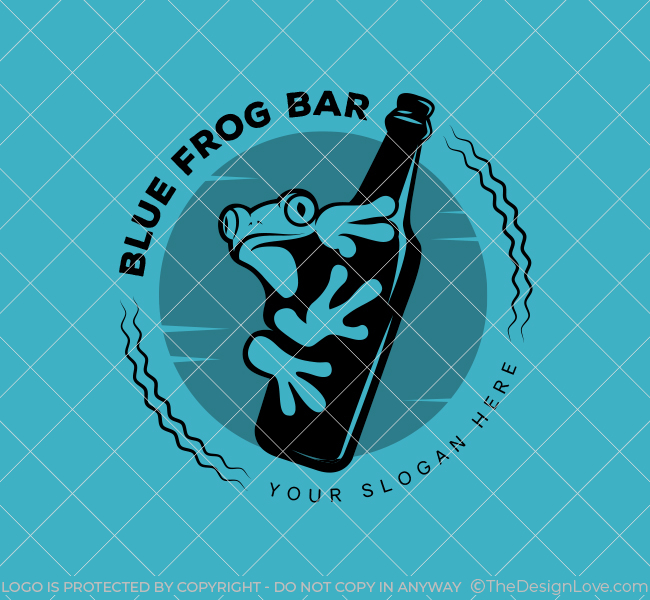 Blue-Frog-Pub-Stock-Logo