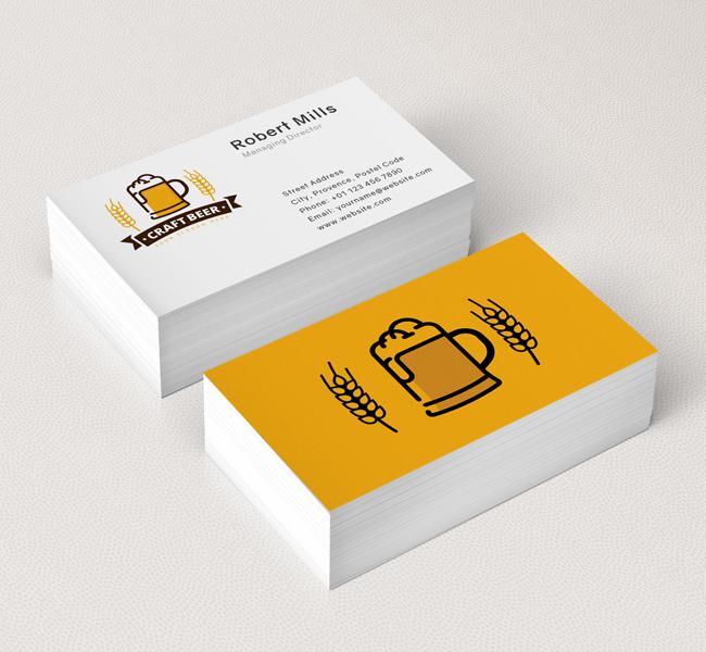 376-Beer-Mug-Business-Card-Mockup