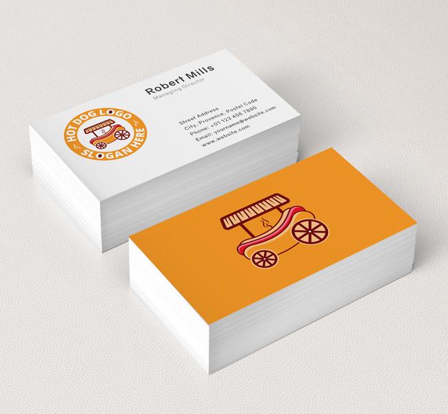 Hot-Dog-Business-Card-Mockup