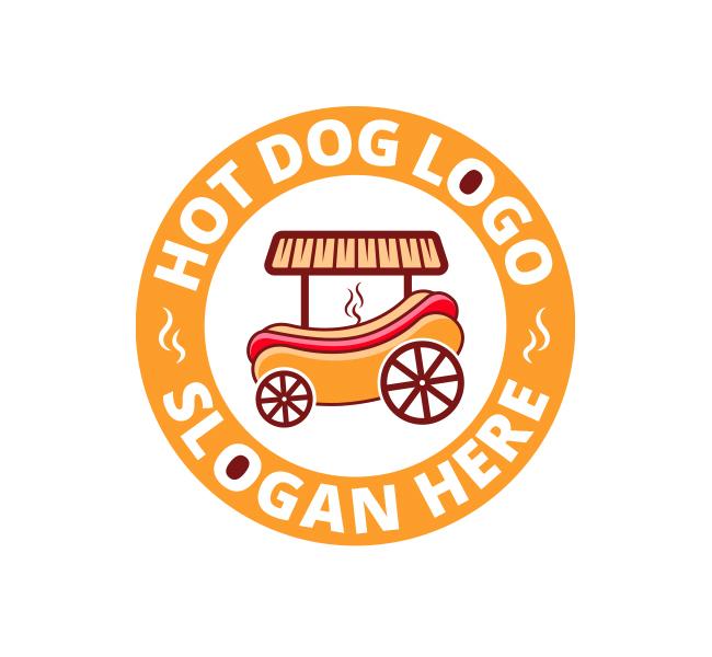Hot Dog Logo