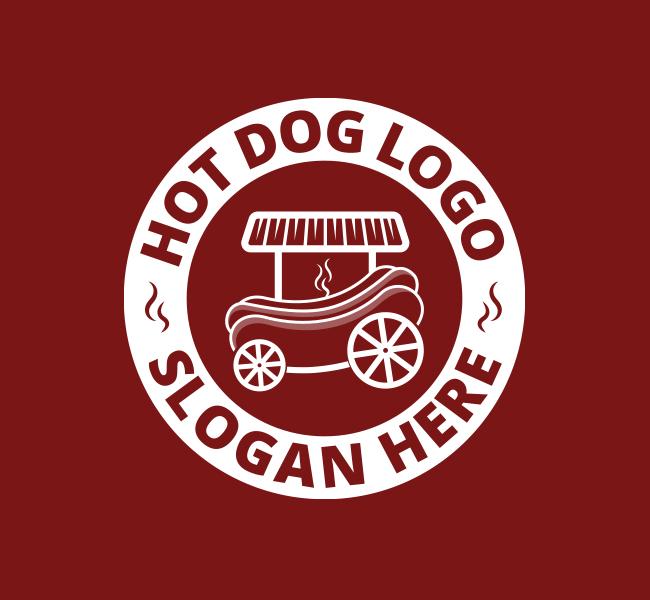 Hot-Dog-Pre-Designed-Logo