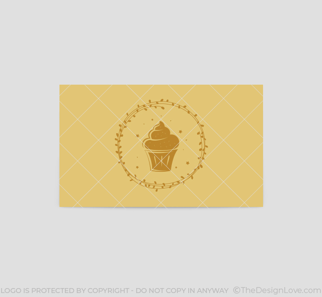388-Golden-Cupcake-Business-Card-Template-Back