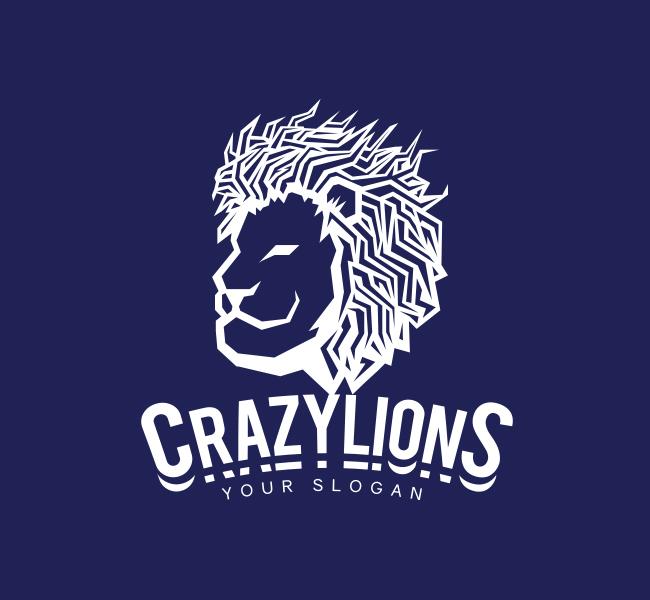 Lion-Face-Pre-Designed-Logo