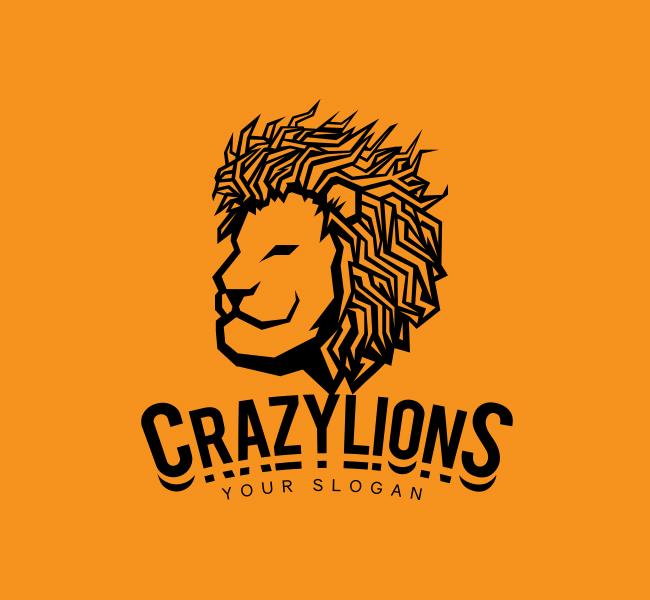 Lion-Face-Stock-Logo