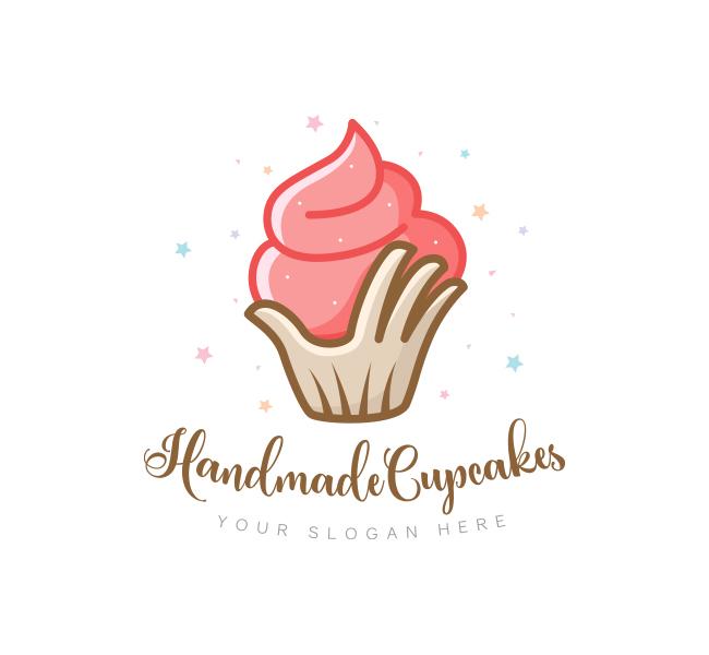 Handmade-Cupcake-Logo