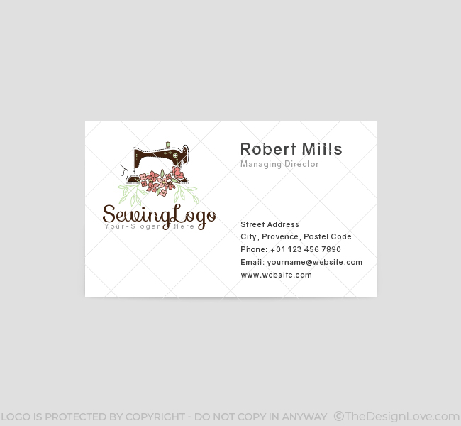 395-Sewing-Business-Card-Template-Front