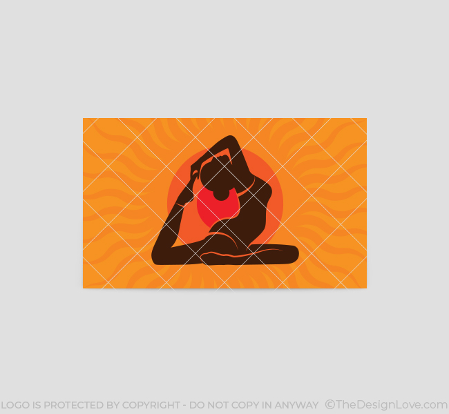 Power-Yoga-Business-Card-Template-Back