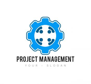 Project Management Logo & Business Card Template