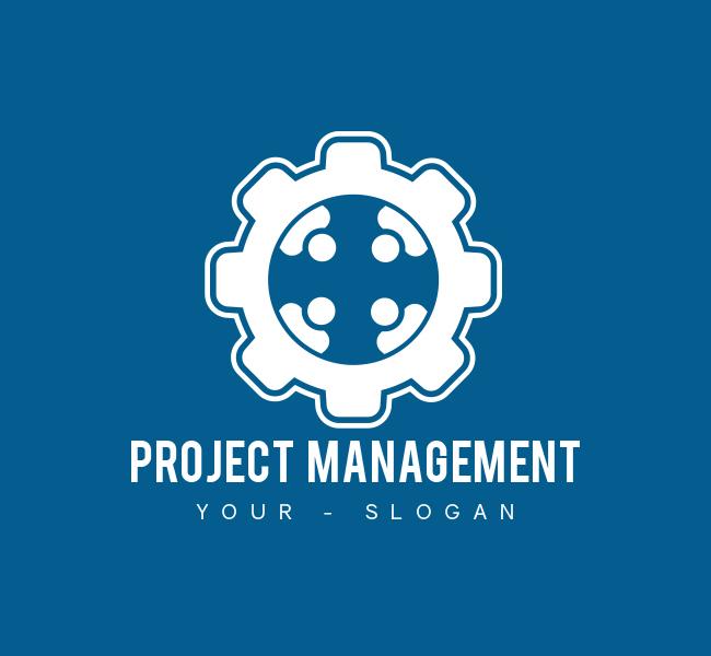 Project-management-Pre-Designed-Logo