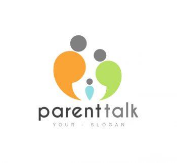 Parent Talk Logo & Business Card Template