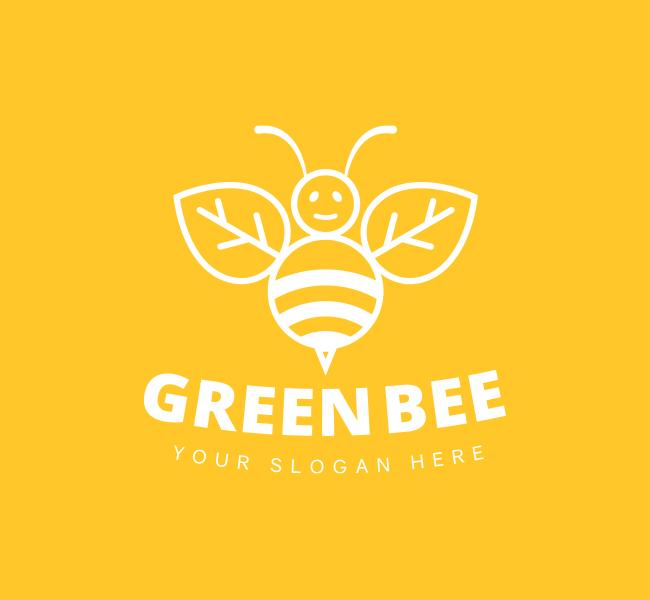 Green-Bee-Pre-Designed-Logo