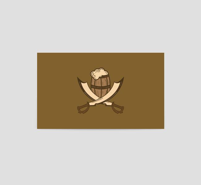 Pirate Pub-Business-Card-Template-Back