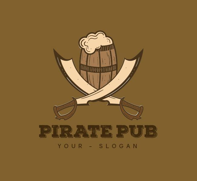 Pirate Pub-Logo-Template-00