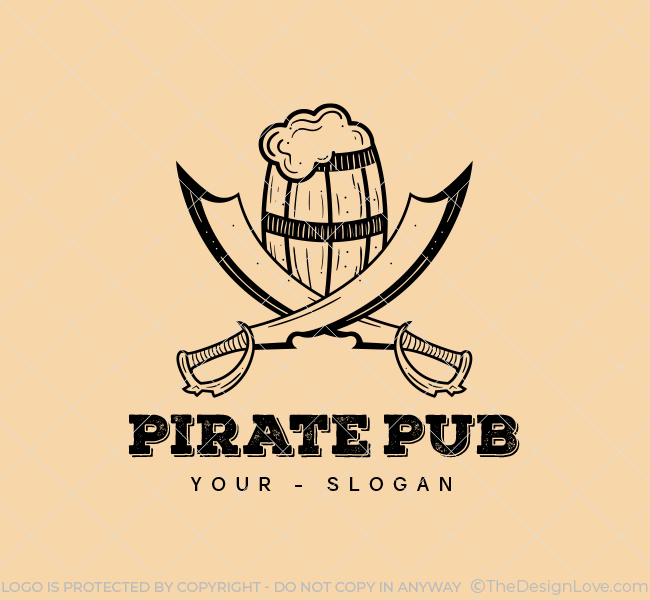 Pirate Pub-Stock-Logo