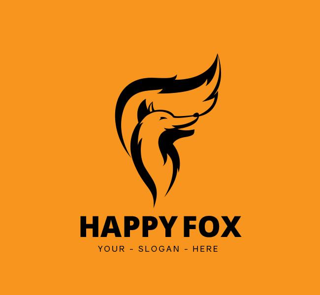 Happy-Fox-Stock-Logo