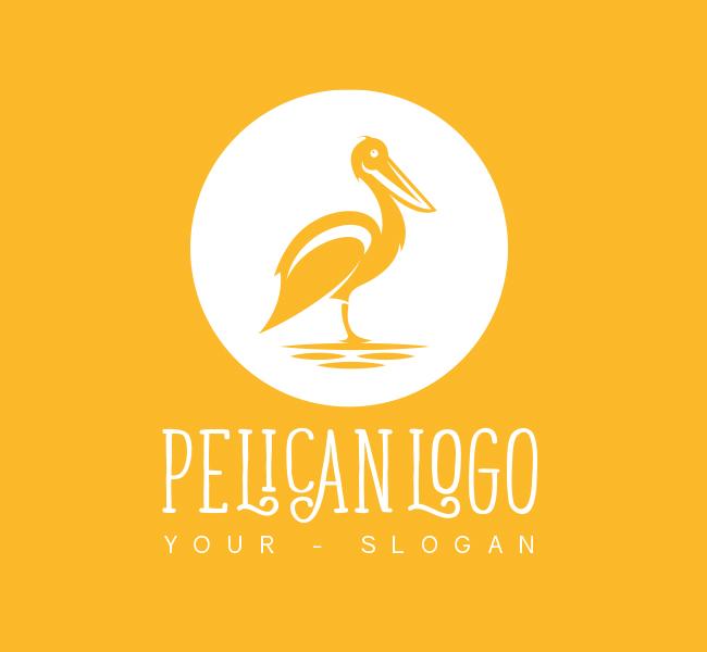 413-Pelican-Pre-Designed-Logo