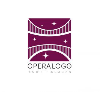 Opera Logo & Business Card Template